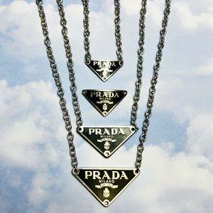 🦋 Custom Authentic Prada Charm Necklaces 🦋